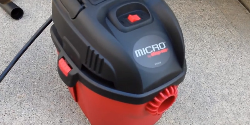 Shop-Vac 2021000 Micro Wet/Dry Vac in the use