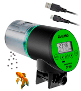 Zacro Rechargeable Timer Fish Feeder