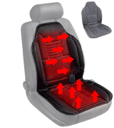 Sojoy Car Seat Heater Heated Cushion Universal 12V Heated Smart Multifunctional