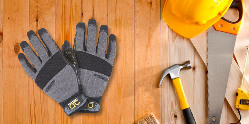 Review of Custom Leathercraft 125L Handyman Flex Grip Work Gloves