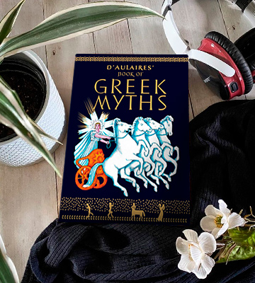 Review of Ingri d'Aulaire Illustrated D'Aulaires' Book of Greek Myths