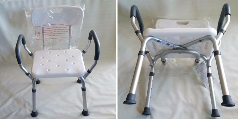 Review of NOVA Medical Products Deluxe Bath Seat with Back & Arms
