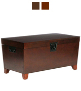 Southern Enterprises, Inc. CK2224 Pyramid Storage Trunk Cocktail Table