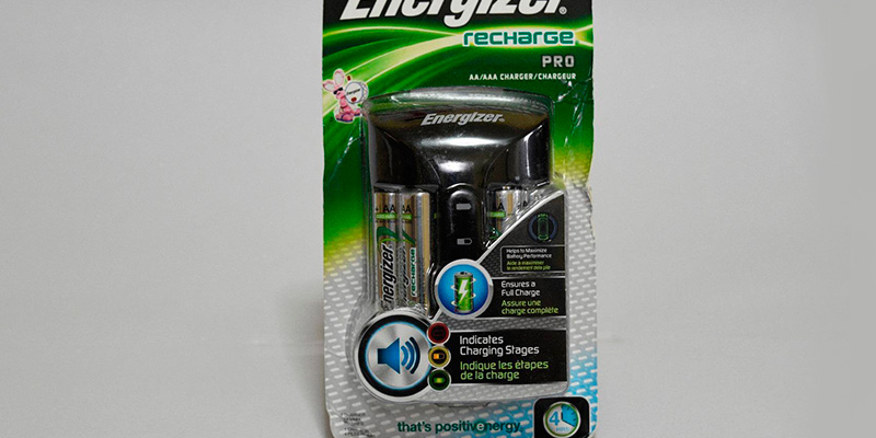 Energizer Pro Charger for AA and AAA application