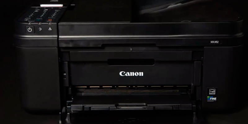 Canon MX492 Wireless All-In-One Small Printer application