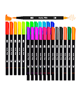 Aen Art Dual Pen Calligraphy Brush Marker Pens