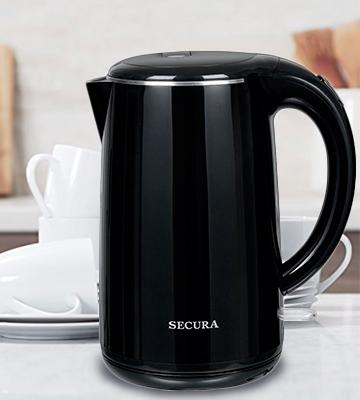 Review of Secura SWK-1701DB Stainless Steel Electric Water Kettle