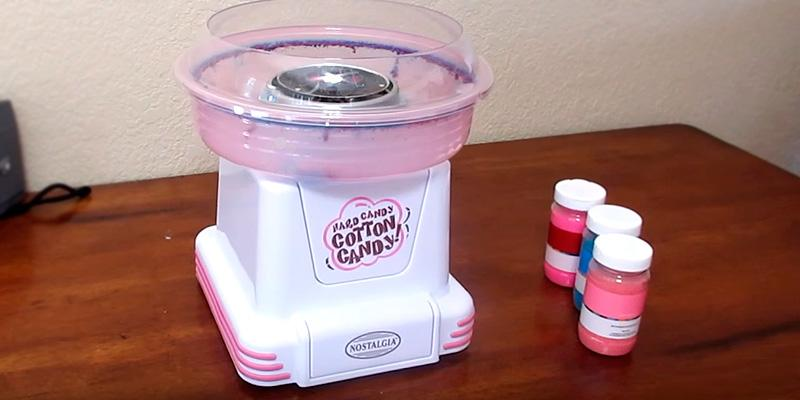 Review of Nostalgia PCM805 Cotton Candy Maker