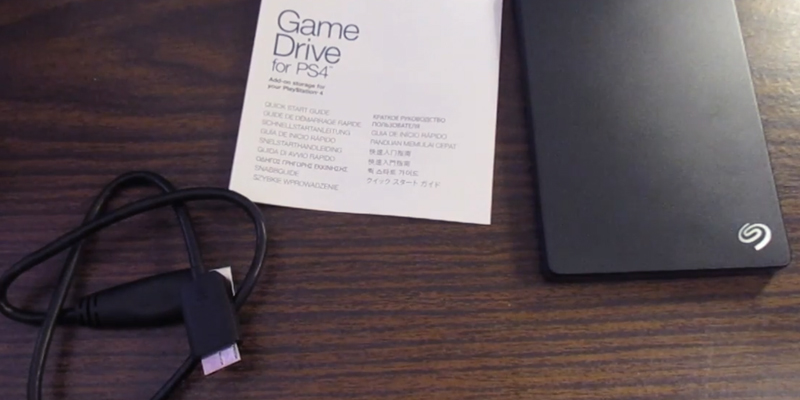 Review of Seagate Game Drive Portable External USB Hard Drive for PlayStation 4