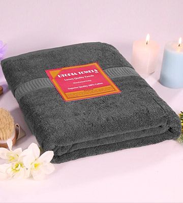 Review of Utopia Towels UT0314 Soft Cotton Machine Washable Extra Large Bath Towel