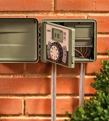 Review of Orbit 57894 4-Station Outdoor Swing Panel Sprinkler System Timer