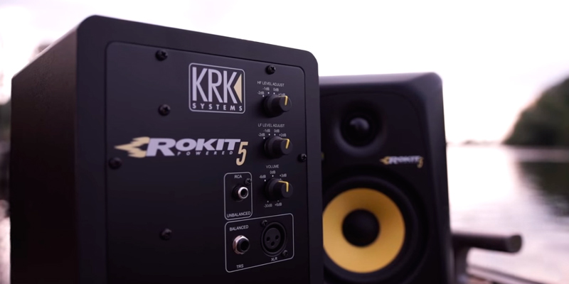 KRK Rokit 5 (RP5G3-NA) Powered Studio Monitor (Generation 3) (Pair) in the use