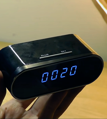 Review of WEMLB Clock 1080P Wireless Security Hidden Camera