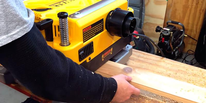 Review of DEWALT DW735X Two Speed Thickness