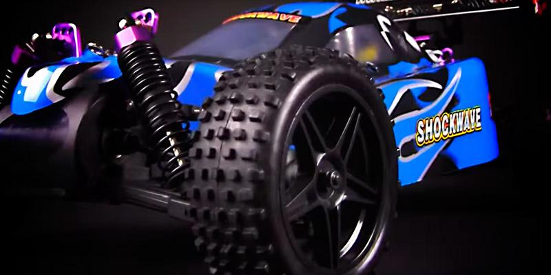 Review of Redcat TORNADOXL-BLUE-94105 Racing Shockwave Nitro Buggy