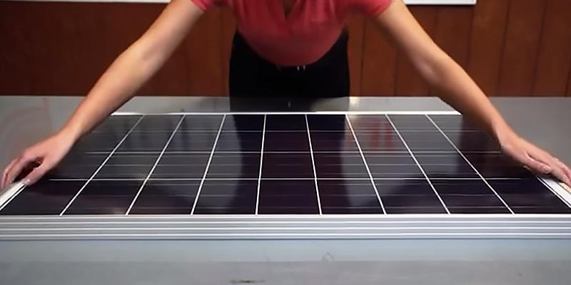 Grape Solar GS-STAR Polycrystalline Solar Panel in the use