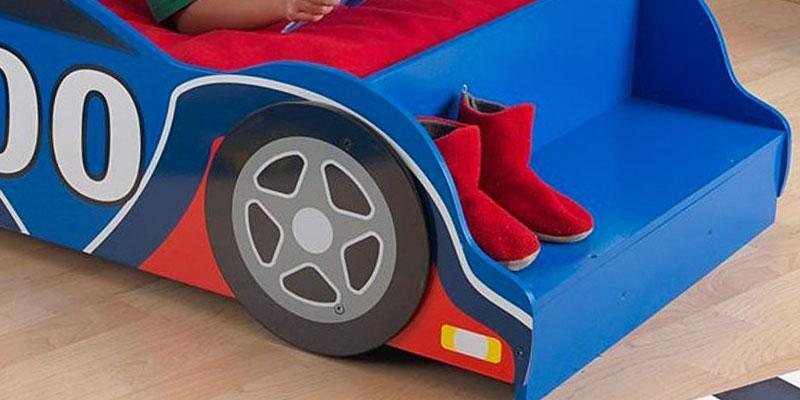 Detailed review of KidKraft Race Car Toddler Bed