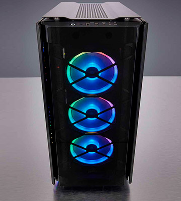 Review of Corsair 500D RGB SE Mid-Tower Case Smoked Tempered Glass