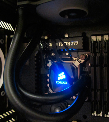 Review of Corsair H100i v2 (CW-9060025-WW) AIO Liquid CPU Cooler, 240mm Radiator, Dual 120mm PWM Fans, Advanced RGB Lighting and Fan Software Control