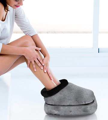 Review of Gideon Cozy Heated Foot and Toe Warmer + Foot Massager
