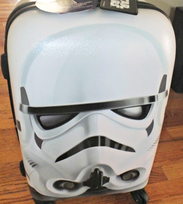 "Review of American Tourister Star Wars 28"" Hard Side Spinner"