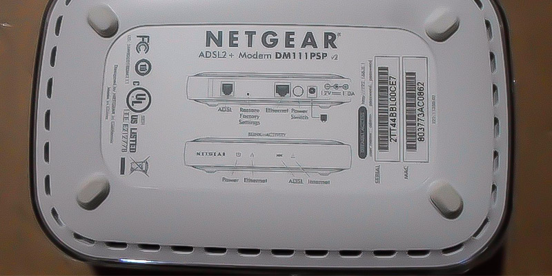 Detailed review of NETGEAR Broadband ADSL2 Plus Modem