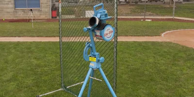 Jugs Lite-Flite Machine for Baseball and Softball in the use
