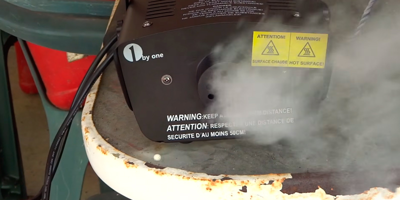 Review of 1byone 400-Watt Fog Smoke Machine