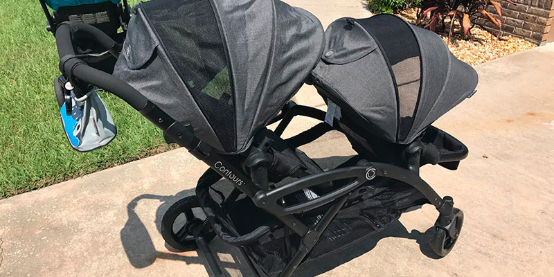 Contours Options Elite Tandem Stroller in the use