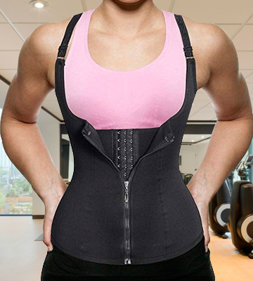 Review of Nebility Corset Top Waist Trainer