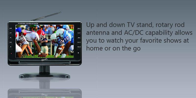 Review of Supersonic SC499 9 LCD Portable Digital TV