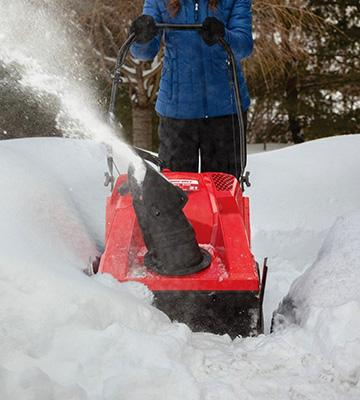 Review of Troy-Bilt Squall 2100 Electric Start Single-Stage Snow Thrower