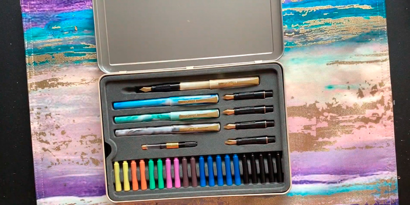 Review of Mont Marte Calligraphy Set Includes Calligraphy Pens