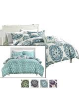 Chic Home Reversible Bed in a Bag Comforter Set
