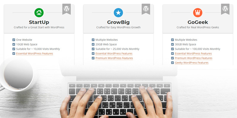 SiteGround WordPress Hosting in the use