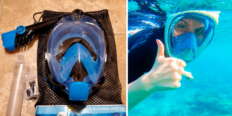 Review of WSTOO Full Face Snorkel Mask-Advanced Safety Breathing System
