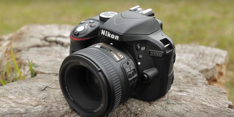 Nikon D3300 Digital SLR Camera in the use