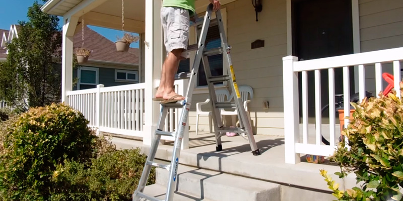 Review of Werner MT-22 Duty Rating Telescoping Multi-Ladder