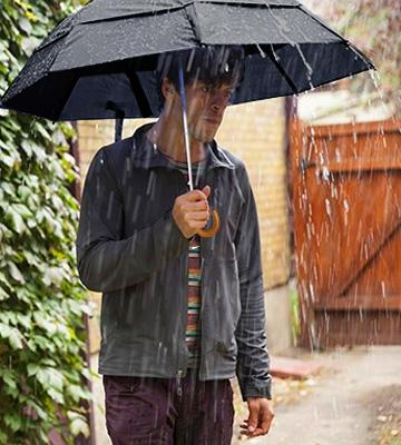 Review of GustBuster Automatic Umbrella for Rain