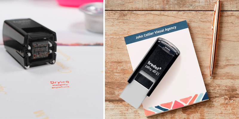 Review of Trodat Printy 4921 Personalized Individual Custom Self Inking Stamp
