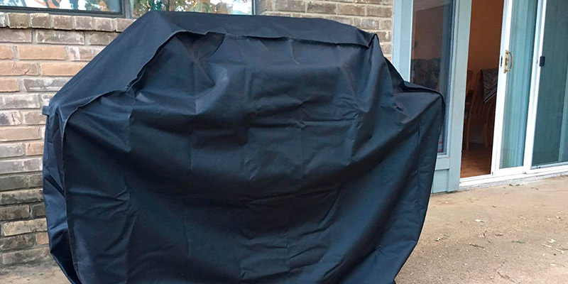 Review of Homitt Gas Grill Cover for Weber, Holland, Jenn Air, Brinkmann and Char Broil