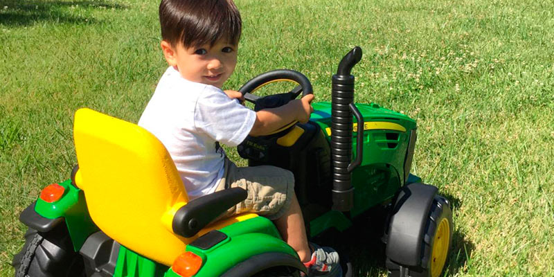 Review of Peg Perego John Deere Ground Force Tractor