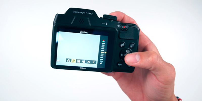 Nikon COOLPIX B500 Point and Shoot Camera in the use
