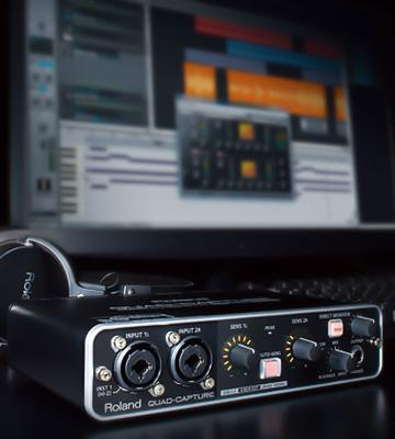 Review of Roland QuadCapture Audio Interface