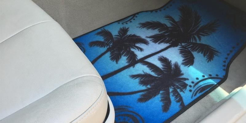 Review of BDK Palm Tree Carpet Floor Mats for Car
