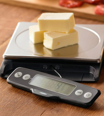 Review of OXO Good Grips 11 lb Stainless Steel Food Scale