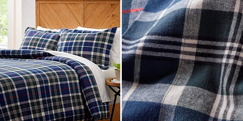 Review of Stone & Beam Rustic 100% Cotton Plaid Flannel Bed Sheet Set