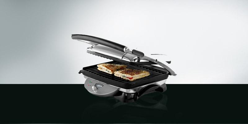 De'Longhi CGH800 Contact Grill and Panini Press in the use