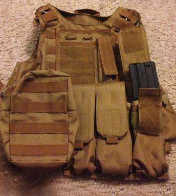 Review of Dock Tactical Molle Airsoft Vest