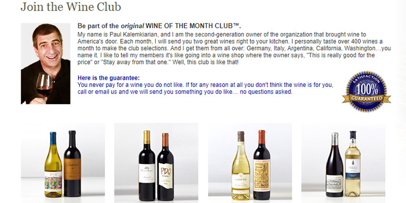 Detailed review of Wine of the Month Club Wine Delivery